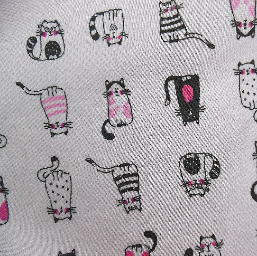 Kočky na růžové 100% Ba